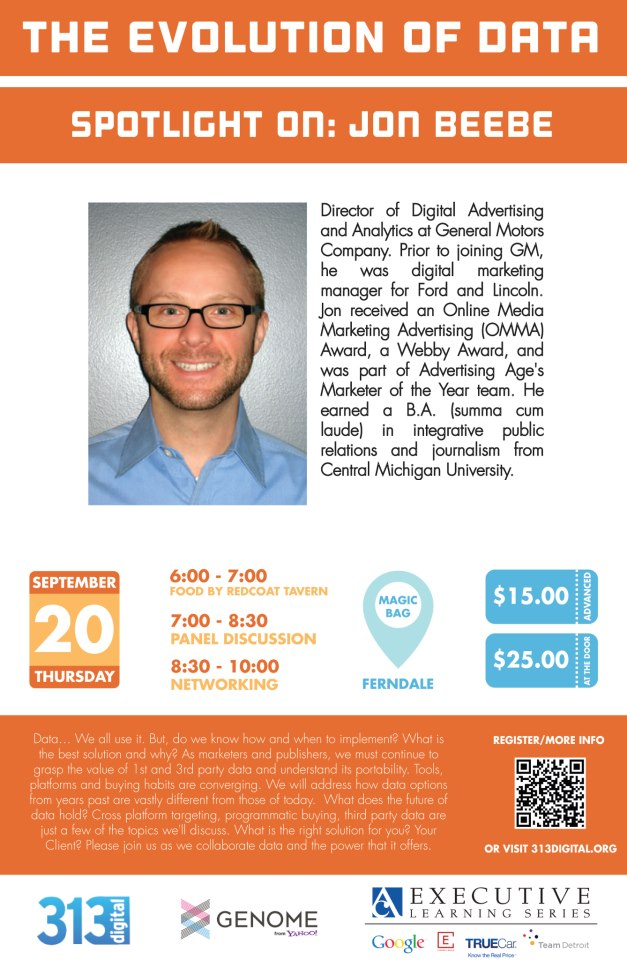 313Digital Evolution of Data Speaker Jon Beebe