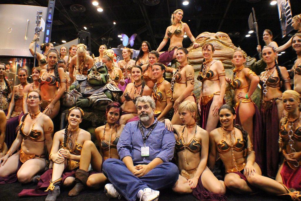 George Lucas at Comicon