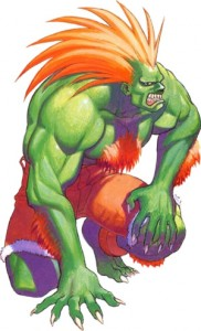 Street Fighter's Blanka